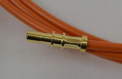 MOST Fibre Optic Extension Cable POF - 250mm Long - Mercedes BMW Porsche Audi VW