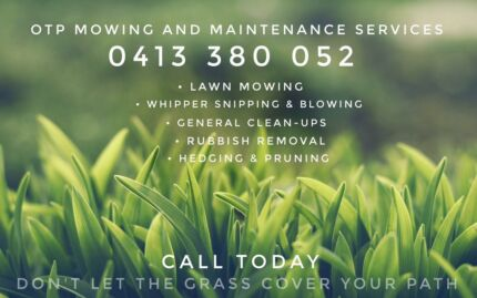 OnThePath Mowing and Maintenance Services