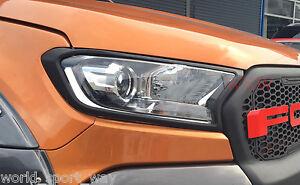 Ford Ranger MKII MK2 PX2 2015 / 2016 Wildtrak XLT XLS XL Headlight Cover Trims