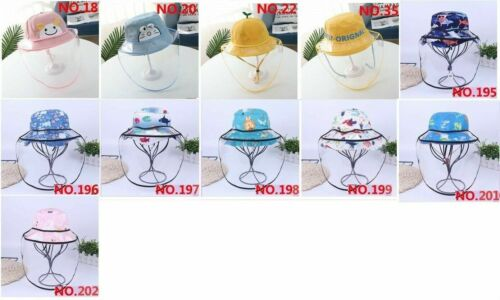 baby kids transparent face shield protective hat FAST SHIPPING