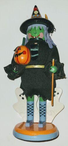 """Halloween Nutcracker Witch KURT ADLER 14"""""""
