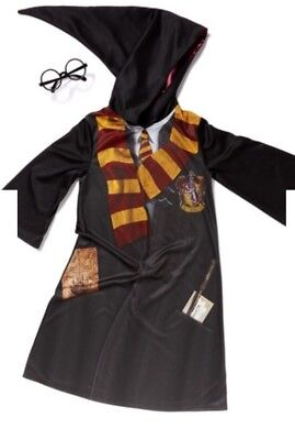 7-8 Harry Potter Fancy Dress  Outfit Dressing Up & Snitch](Harry Potter Dressing Up Clothes)