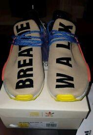 Adidas x Pharrell Williams HU NMD_TR Trail Human Race Pale Nude | UK 7.5 | BNIB