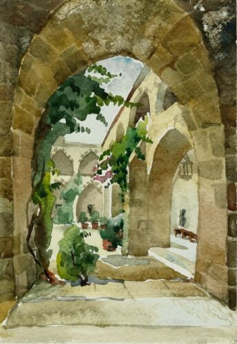 Your Guide to Buying an Antique Watercolour Painting