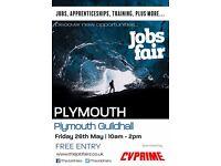 FREE JOBS FAIR - Plymouth 26th May