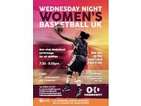 Womens Basketball - Open Scrimmage - every Wednesday Night (Central London) - Play non-stop for 2hrs