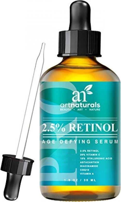 ArtNaturals Enhanced Retinol Serum, 2.5% with 20% Vitamin C