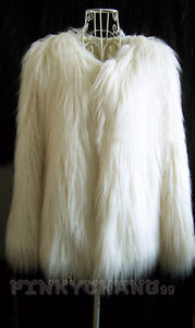 Trend Long Hair Faux Fur Coat Jacket (S/M/L/XL/XXL/XXXL)