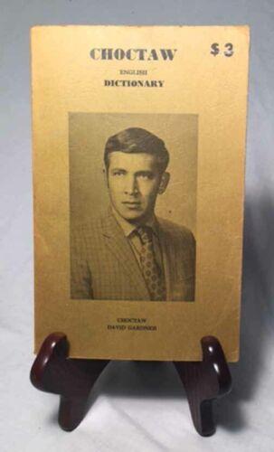 Choctaw-English Dictionary/1973 Oklahoma City Indian Calendar Paperback