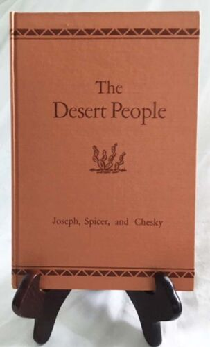 The Papago Indians of Southern Arizona—Nice 1949 Un. of Chicago Hardback in DJ