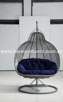 Roma Double Hanging Pod Chair Keilor Park Brimbank Area Preview