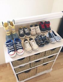 Boys / toddler shoes / trainers bundle 4/5
