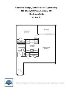 Two Bedroom Suites Cherryhill Village  for Rent - 105... London Ontario image 4