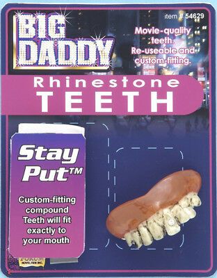 Big Daddy Halloween Costume (Big Daddy Rhinestone Teeth Halloween Costume)