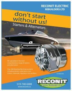Boating Season ahead - Power tilt motor and Marine Starter