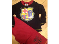 Job Lot Wholesale Kids Barcelona Pyjamas Long 12/18 Months Bargain Market Bundle