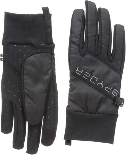 """SPYDER Solitude Hybrid Glove Winter Ski Thermaweb Touch Women LARGE """"WITH TAGS"""""""