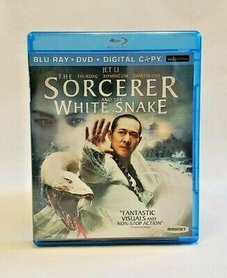 The Sorcerer and the White Snake (Blu-ray/DVD, 2013, 2-Disc
