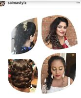 Mobile hairstylist and makeup artist available