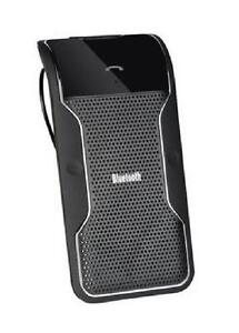 Bluetooth Visor Multipoint Wireless Speakerphone Car kit for Smartphones - Black