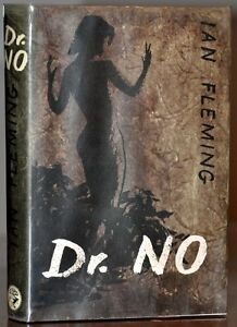 NR FINE 1ST/1ST ED W.STUNNING ORGINAL DUST JACKET~DR. NO~IAN FLEMING