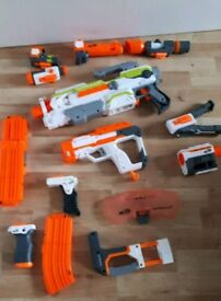 NERF Gun & accessory collection