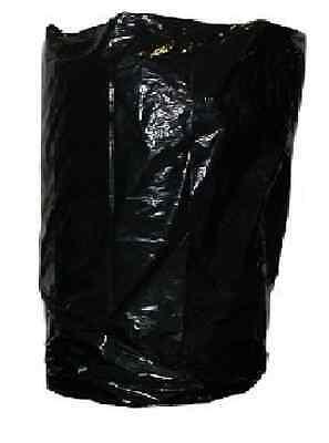 10 x Black Wheelie Bin Liner Bags Refuse Sack 30