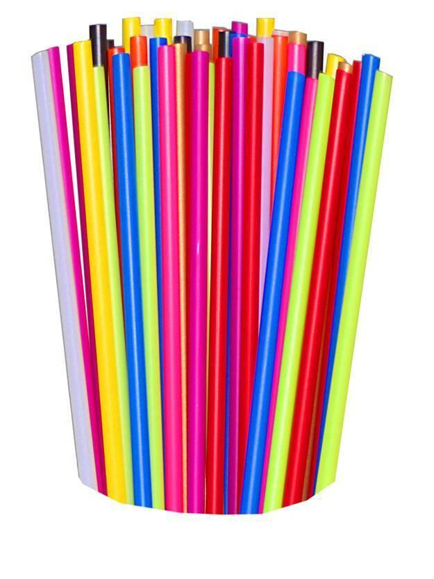 100 Cake Pop Stiele, Lutscher, Lollipop, Plastikstiele sticks im FARBMIX 150x4mm