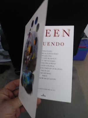 """QUEEN """"INNUENDO"""" PROMO CARD OF ALBUM COVER ARTWORK - Classic Rock Music"""