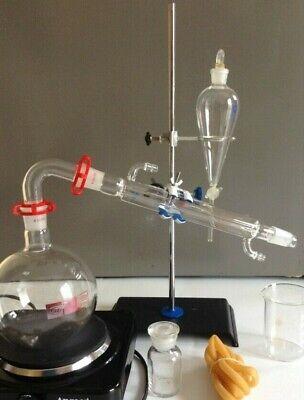 1000 Ml Essential Oil Steam Distillation Kit 110 V Hot Plate