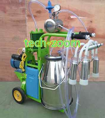 Electric Milk Milking Machine Pision Milking For Cows Or Goats Sheep 110v220v