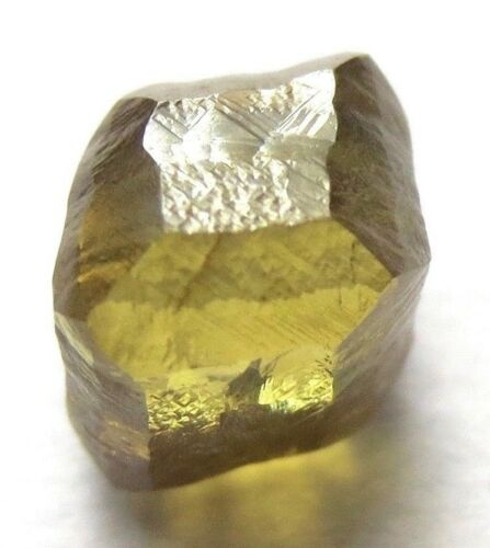 1.33 Carats Green Cuttable Cubic Gemmy Raw Rough Diamond from the Anabar mine
