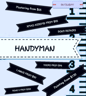 HANDYMAN & XMAS ASSEMBLY  Marsden Logan Area Preview