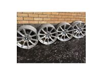 BLACK FRIDAY SALE BMW F10 520i M Sport Saloon Winter Alloys : WD245 R18 VSpoke 281 car tyres