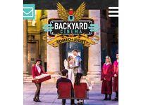 Backyard cinema ROMEO + JULIET London - fri 24th August x2 tickets