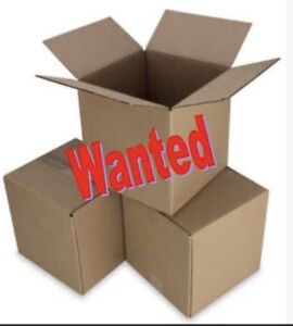 Moving boxes wanted!