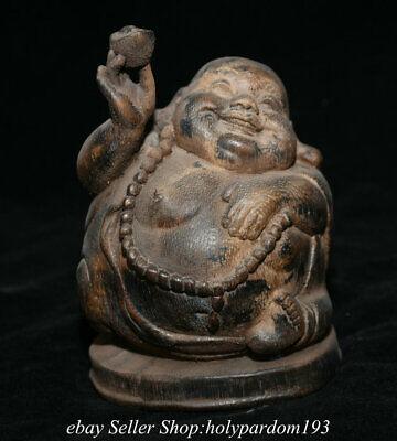 antique excellent Old Handwork Copper Carved statue big pot Qing Dynasty