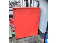 News paper Secure locking steel cabinet