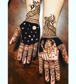 Karwachauth special mehndi/ henna
