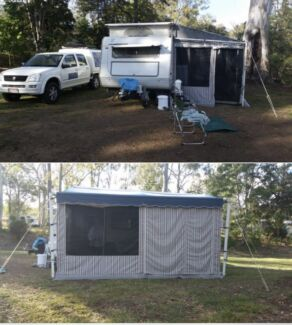 Wanted: Popup 17ft Caravan with full annex