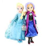 "16"" Frozen Elsa & Anna Princess Stuffed Plush Doll Birthday Christmas Xmas Gift"