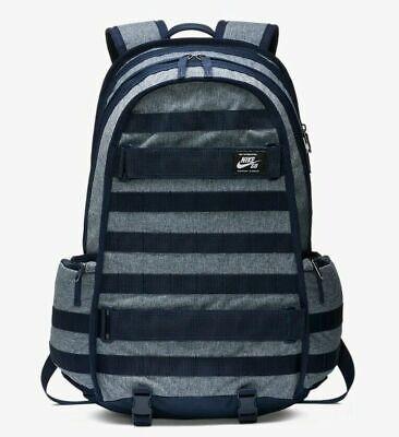 NIKE SB RPM PRINTED SKATEBOARD BACKPACK BAG BA6033-010 OBSIDIAN SAIL NEW