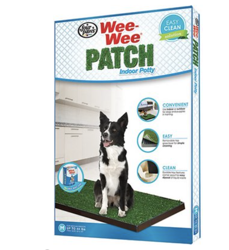 Four Paws WeeWee Patch Indoor Potty Training Puppy Dog House