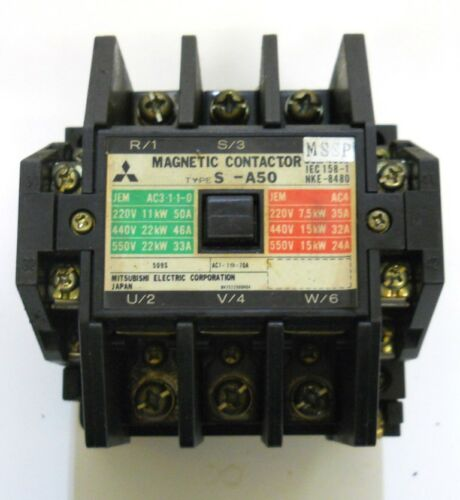 MITSUBISHI ELECTRIC CORP. MAGNETIC CONTACTOR, TYPE S-450