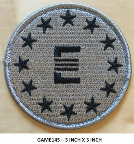 FALLOUT ENCLAVE BLACK ON GRAY PATCH  - GAME145