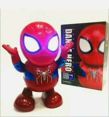 Toys For Boys Dancing Spiderman Robot 2 3 4 5 6 7 8 9 Year Age Old Xmas gifts