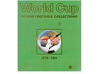Panini World Cup Sticker Book 1970-2014