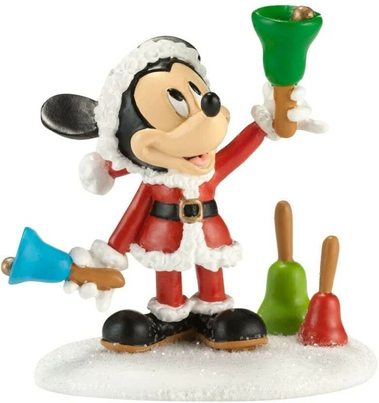 Ringing in the Holidays Department 56 Disney Village 4020326 Mickey Christmas Z