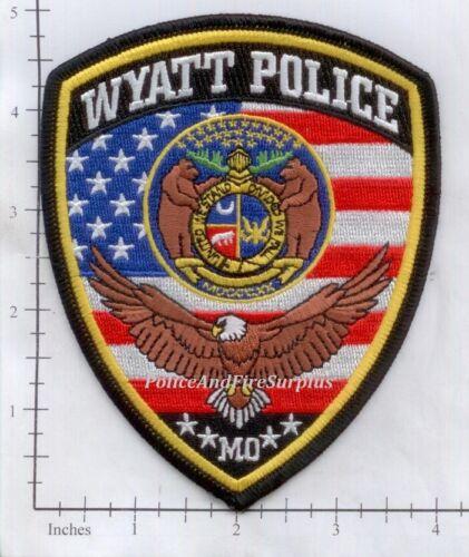 Missouri - Wyatt MO Police Dept Patch