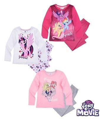 my little Pony Mädchen Schlafanzug Pyjama 104 110 116 128 NEU LIZENZ ()